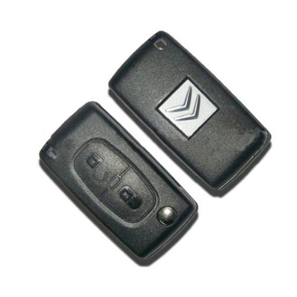 Κλειδι με τηλεχειρισμο για CITROEN με 2 κουμπια