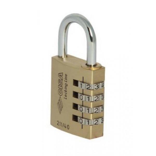 Λουκέτο CISA Locking Line (συνδυασμού)