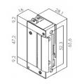 Ηλεκτρικό Κυπρί Μίνι Fail Secure 16 mm (στενό)