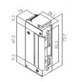 Ηλεκτρικό Κυπρί Μίνι Fail Secure Monitoring 16 mm (στενό)
