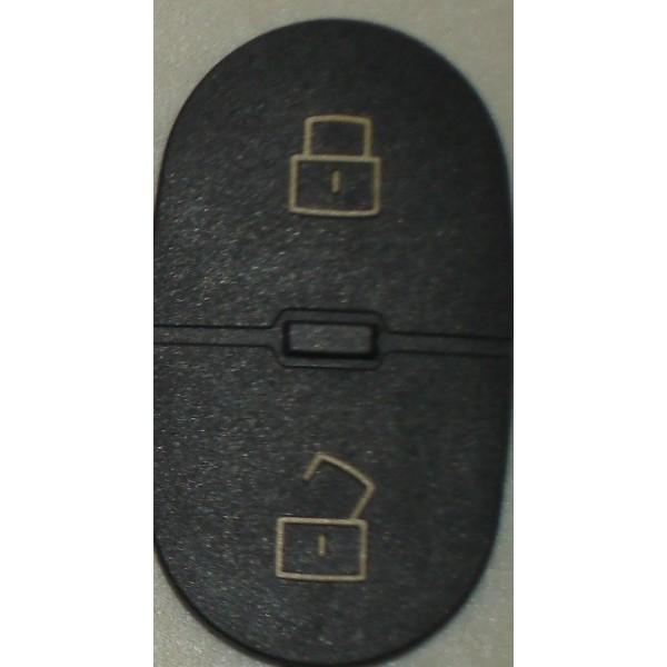 Πλαστικά κουμπιά για τηλεχειριστήριο AUDI - 2 κουμπιά