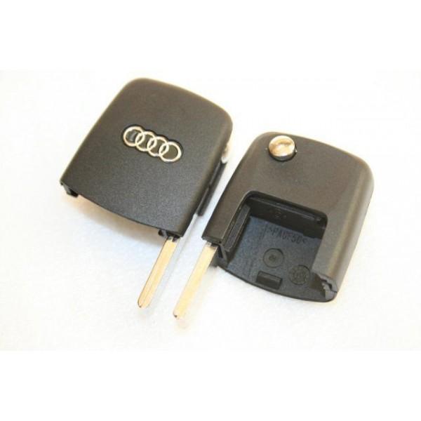 Κλειδί τύπου FLIP για AUDI με λεπίδα και υποδοχή για τετράγωνο REMOTE