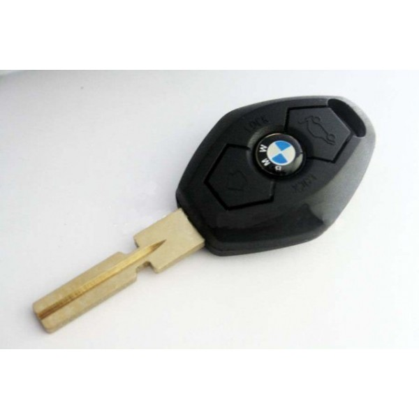 Κλειδί με τηλεχειρισμό για BMW για αντικατάσταση των παλιών κλειδιών με 3 κουμπιά